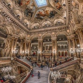 Garnier Opera,Paris - Beautiful Arts!