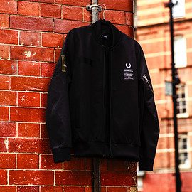 ART COMES FIRST CONTRAST SLEEVE TRACK JACKET