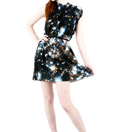 Shadowplaynyc - Starry Night Galaxy Dress