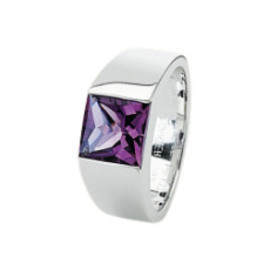 Cartier - Tank ring amethyst