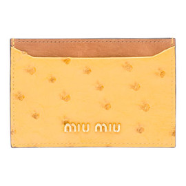 miu miu - credit card holder