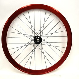 BROTURES - 42mm Deep COMPLETE WHEEL RED