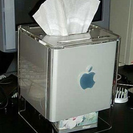 "Apple - Power Mac G4 Cube ""Tissue Case"""