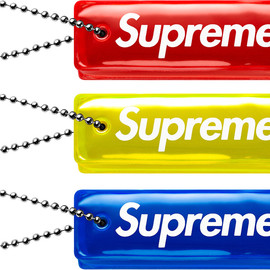 Supreme - fallwinter'14 Reflective Puffy Keychain