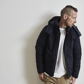 White Mountaineering - White Mountaineering for Ron Hermann Down Jacket