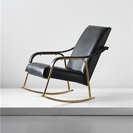 Jacques Adnet - Rocking chair
