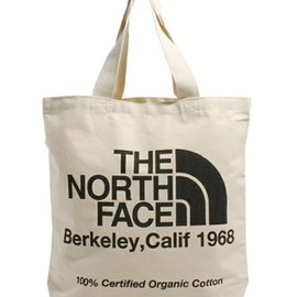 THE NORTH FACE - organic cotton tote bag
