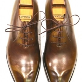 Pierre Corthay - Tailor Made Shoes, Light Brown Patina