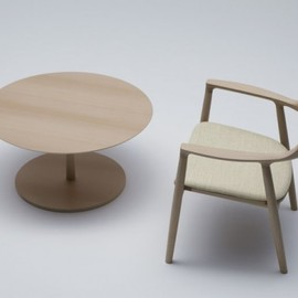 Naoto Fukasawa - side table & chair, Maruni Hiroshima collection