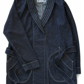 bal - Denim Robe (rinse wash)