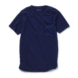 nonnative - DWELLER TEE SS - COTTON JERSEY OVERDYED