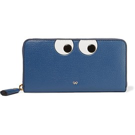 Anya Hindmarch - Eyes embossed textured-leather wallet