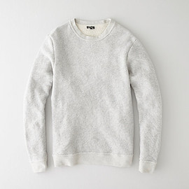 Steven Alan - BASIC CREWNECK SWEATSHIRT