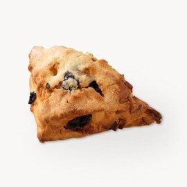 STARBUCKS - blueberry cream scone