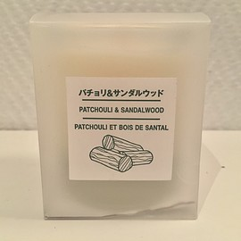 MUJI, EU限定 - patchouli & sandalwood