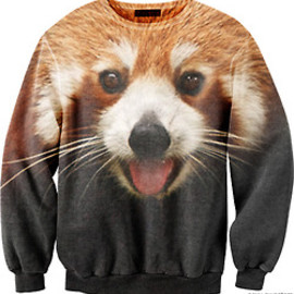 sexy sweaters - CUTE RED PANDA