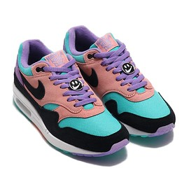 NIKE - NIKE AIR MAX 1 ND SPACE PURPLE/BLACK-BLEACHED CORAL 19SP-I