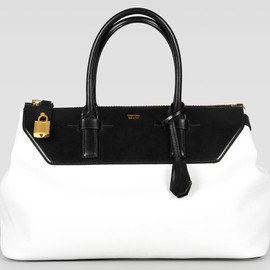 TOM FORD - Two-Tone Medium Petra Bag