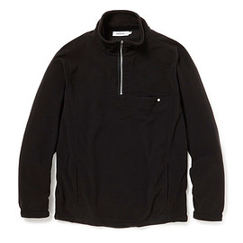 nonnative - EXPLORER HALF ZIP POLY FLEECE
