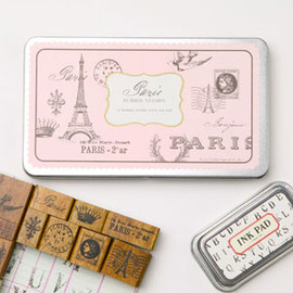 Cavallini & Co - Paris Rubber Stamps