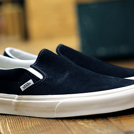 Vans - Classic Slip-On Blue Graphite/Blanc