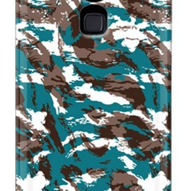 SECOND SKIN - MHAK「CAMO_VER2 グリーン」 / for  ARROWS Z ISW13F/au