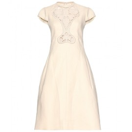CARVEN - PANAMA DRESS WITH CUT-OUT DETAIL