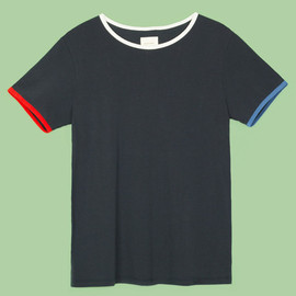 Band of Outsiders - Mismatched Trim Ringer Tee