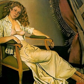 Balthus - The white skirt - Balthus