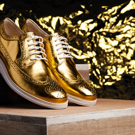 Cole Haan - Cole Haan Limited-Edition Gold LunarGrand