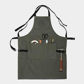 Best Made Company - The Utility Apron - Olive/Black