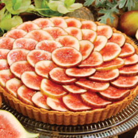 Honney Seedless Grape Tart