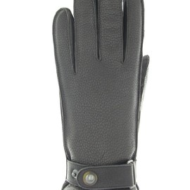 Sermoneta Gloves - DEER CASHMERE LINED WITH BELT GLOVE