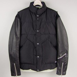 UNDERCOVERISM - 08AW leather sleeves down