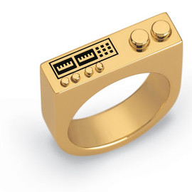 Swatch  - Bijoux - Feel The Beat Ring Gold