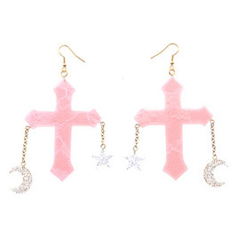 Candy Stripper - MYSTIC CROSS PIERCE | PINK