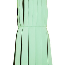 VERSUS - Pleated crepe dress