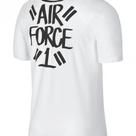 Nike, Eric Haze - Eric Haze x Nike T Shirt Collection - Air Force 1 Pocket Tee in White
