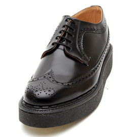 George Cox - Wing Tip Rubber Sole Shoe