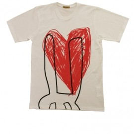 peter jensen - Rabbit Heart T-Shirt  1