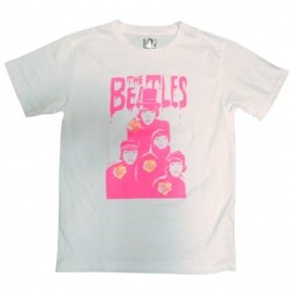 bohemians - 画像1: Tシャツ BEATLES  2015 WHITE&PINK