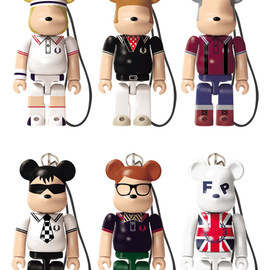 MEDICOM TOY - FRED PERRY BE@RBRICK