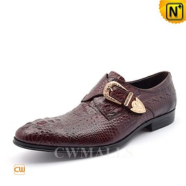cwmalls - CWMALLS Monk Strap Dress Shoes CW716208