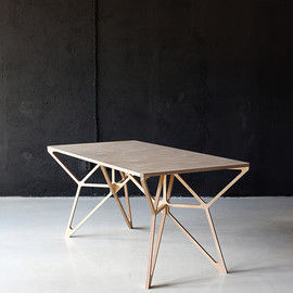 Multiple Owners - Plywood work desk