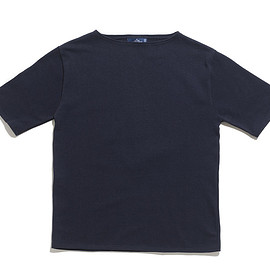 SAINT JAMES - Ouessant Short Sleeve Shirts-Navy