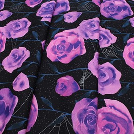 COTTON+STEEL - Eclipse C5196-01 Roses Black Metallic