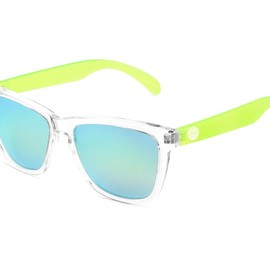 Sunski - Sunski Sunglasses Lime Originals Polarized Grey