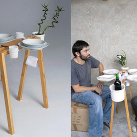 Daniel Gantes - La cool vie boheme - Minimum Dining Table