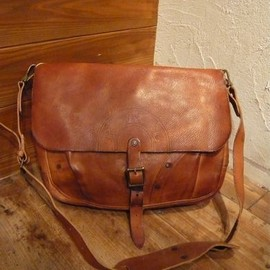 RRL - Leather Messanger Bag