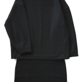 TOGA - Pressed Wool Jersey Dress (black)